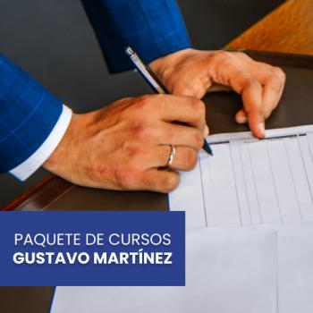 Paquete de Cursos Gustavo Martínez